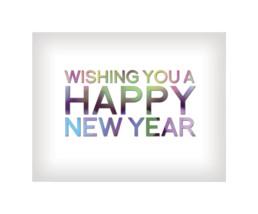 New Years Greeting Design