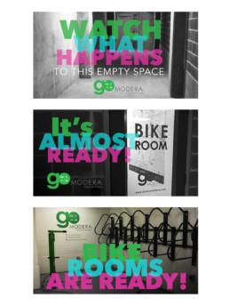 Bike Room Social Media Graphics